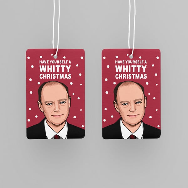 Professor Chris Whitty Christmas Car Air Freshener   Great ...